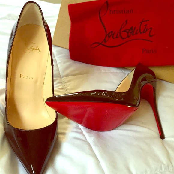 differently ce2f6 f1d77 So Kate black Christian louboutin pumps NWT